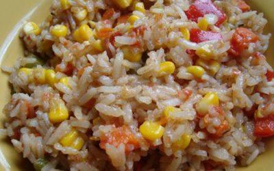Zöldséges rizs 1.