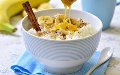 Banános, kókuszos rizs