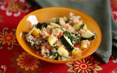 Zöldséges rizs 4.